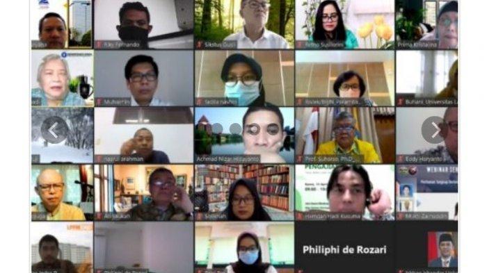 Tingkatkan Kualitas Riset, Unila Ikuti ToT Penulisan Artikel Ilmiah 2021