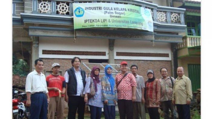 Bina Produsen Gula Semut Lampung, Otik Dosen Universitas Lampung Berharap Tembus Pasar Ekspor