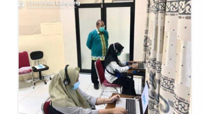 UTBK SBMPTN, Unila Siapkan Aplikasi Khusus Penyandang Disabilitas