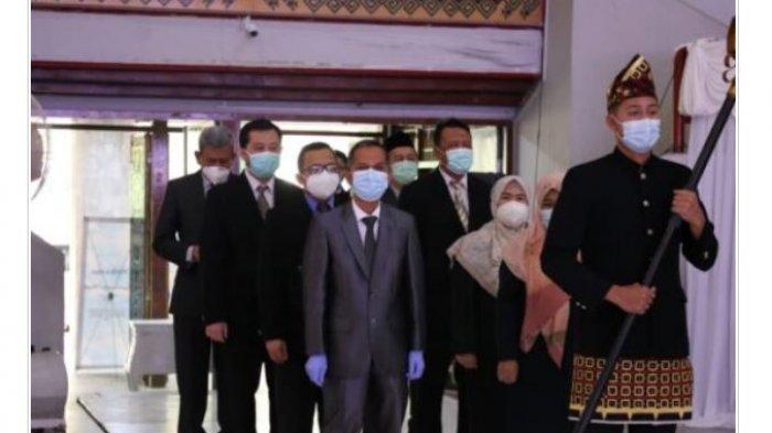 184 Mahasiswa Fakultas Kedokteran Unila Lakukan Pengambilan Sumpah
