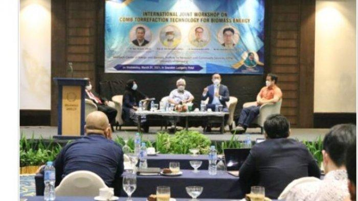LPPM Unila Gelar Semnas Joint Workshop Bidang Biomass