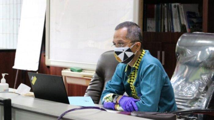 Rektor Universitas Lampung Buka Seminar Nasional Ilmu Lingkungan II Pascasarjana secara Virtual