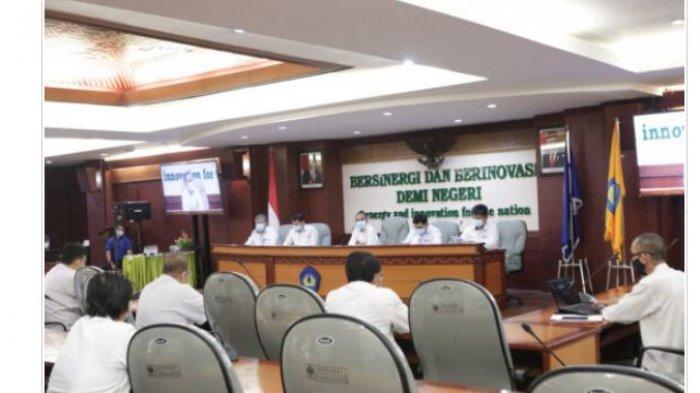 Unila Hadiri Rakor Penguatan Peran Perwakilan RI Wilayah Kerja Sama Ekonomi Subregional
