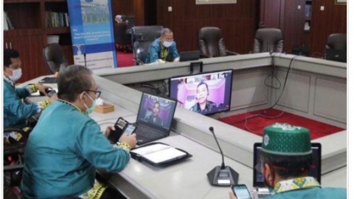 Susun Rencana Kegiatan, Rektor Unila Karomani Beri Pengarahan Tim FRPKB