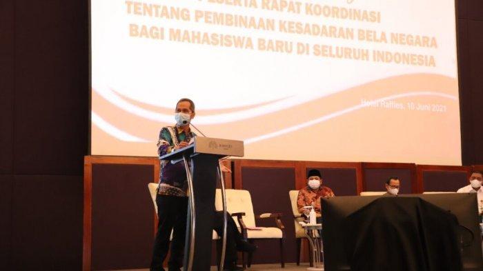 Rektor Unila Jadi Narasumber Pembinaan Kesadaran Bela Negara