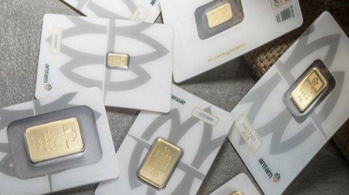 Harga Emas Antam dan UBS di Galeri 24 Hari Ini 23 Juli 2021 Kembali Turun