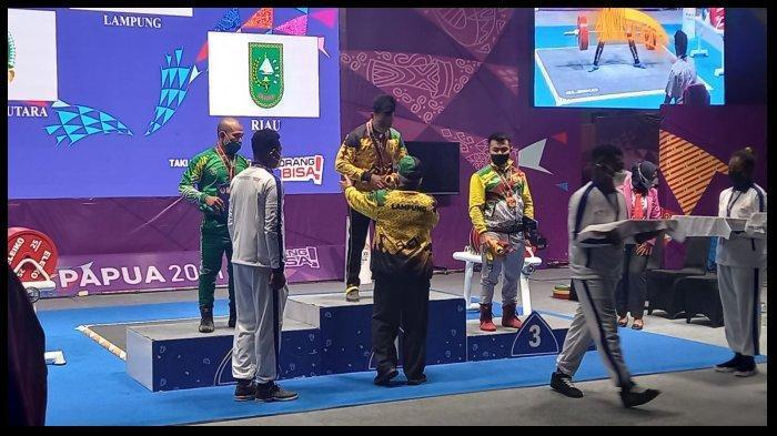 UPDATE Perolehan Medali PON XX Papua 2021, Lampung Masih di 10 Besar Klasemen