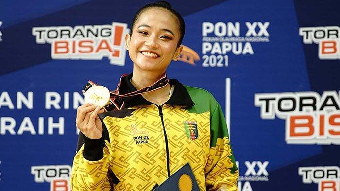 UPDATE Perolehan Medali PON XX Papua 2021, Lampung Peringkat 9 Total 31 Medali