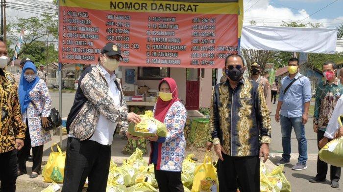 Kunjungi Kalimantan Selatan, Menko Airlangga Pastikan Sinergi dan Kolaborasi Penanganan Covid-19