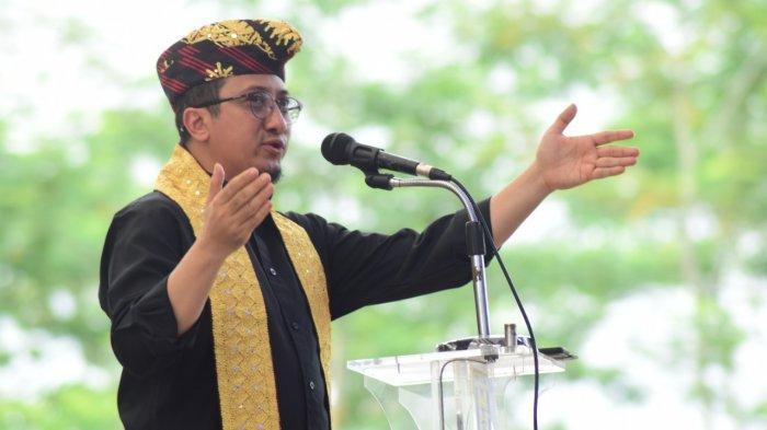 Ustaz Yusuf Mansur Ceramah di Rusunawa Blambangan Umpu
