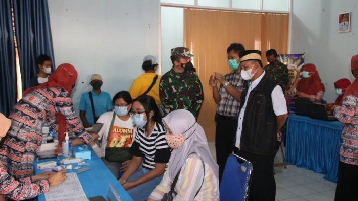 HUT Ke-75 Bhayangkara, Polres Lampung Timur Gelar Vaksinasi Covid-19 di Sejumlah Tempat