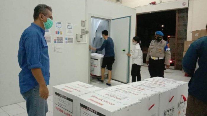 Lampung Terima 148.820 Vaksin Covid-19 Tahap Kedua