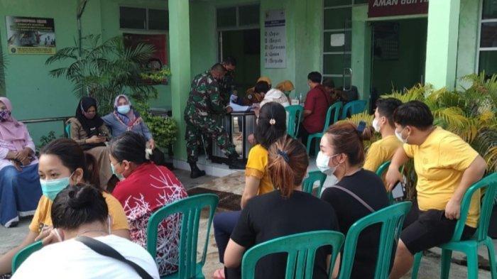 Kodim 0429/Lampung Timur Gelar Vaksinasi Massal Covid-19, Program Sejuta Vaksin Sehari Pemerintah
