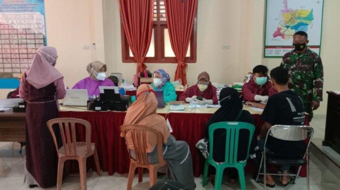 Kodim 0429/Lampung Timur Gelar Vaksinasi Massal Covid-19 Tahap Dua