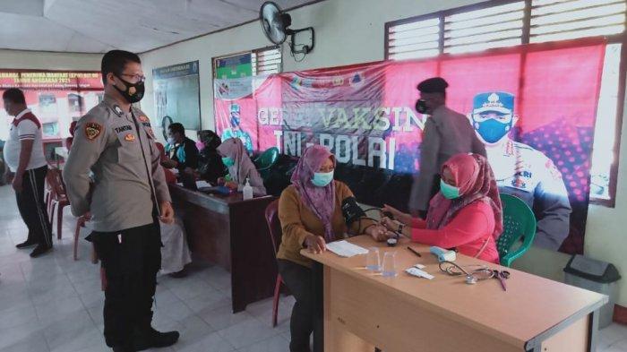 Vaksin Presisi Polres Tubaba Lampung Habiskan 291 Dosis