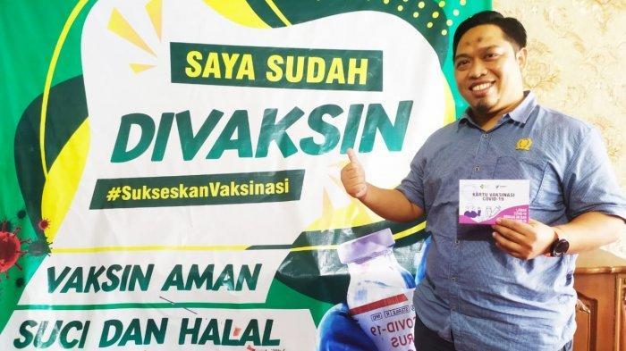 Divaksin Covid-19, Ketua DPRD Lampung Utara Romli: Aman