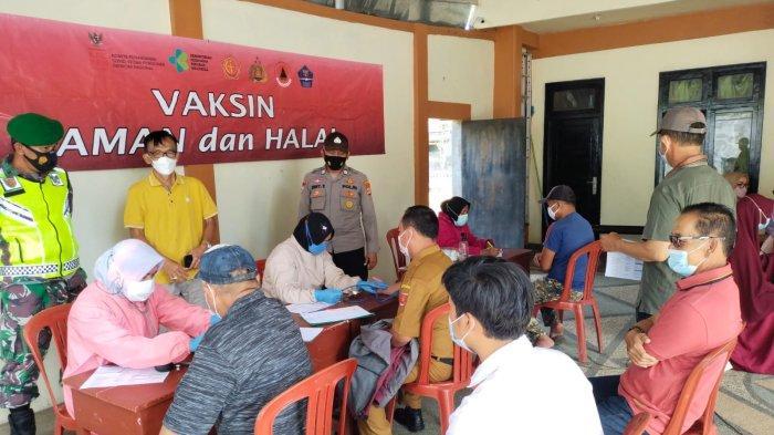 Anggota DPRD Lampung Barat Fasilitasi Vaksinasi Covid-19