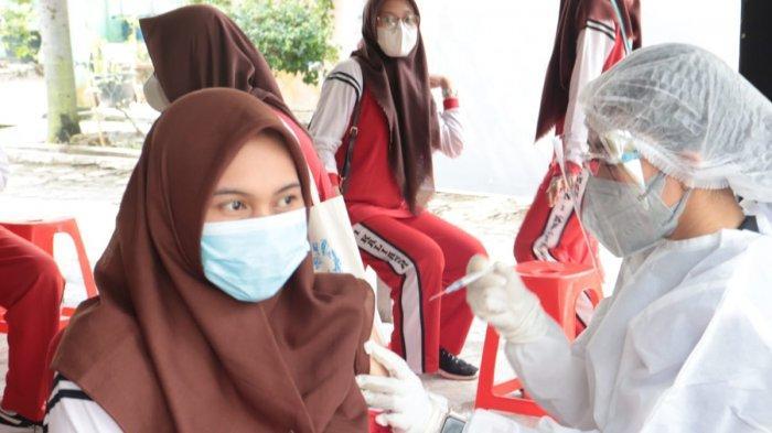 Polres Lampung Selatan Vaksinasi Covid-19 di 6 Kecamatan