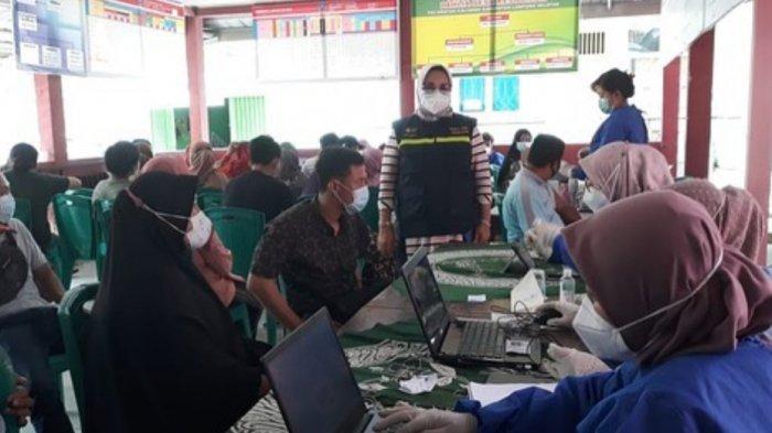 Polres-Forkopimda Lampung Selatan Vaksinasi Massal di 17 Kecamatan