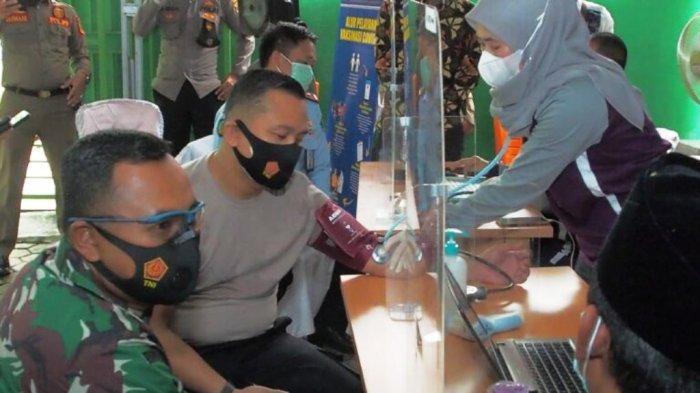 Pelaksanaan Vaksin Covid 19, Kapolres Lampung Tengah Yakin Kekebalan Massal Akan Tercapai