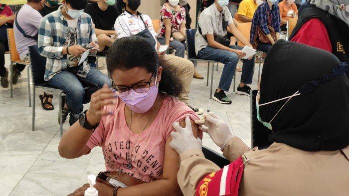 Polda Lampung Sudah Vaksin 1.300 Warga Umum