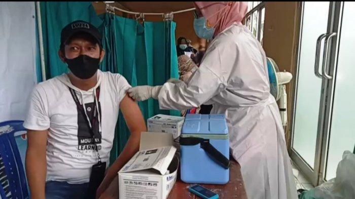 Polres dan Kodim 0411 Kota Metro Gelar Vaksinasi Covid-19 Massal