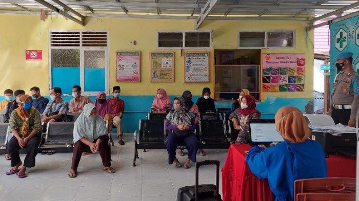 Polres Tanggamus Lampung Telah Memvaksin 1.099 Orang Melalui Vaksinasi Merdeka
