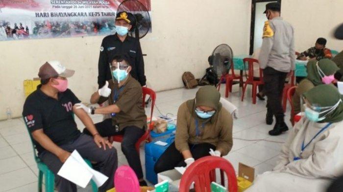 Vaksinasi Covid-19 di Sidomulyo 100 Orang Perhari, Sragi 60 Orang