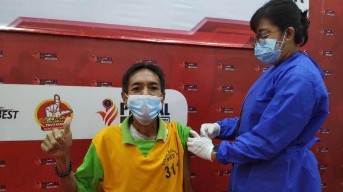 Lapas Kelas IIA Kalianda Lakukan Vaksinasi Covid-19 kepada 380 Warga Binaan