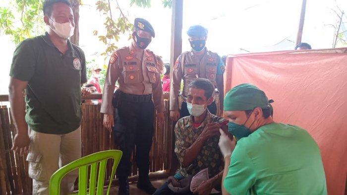 Target 400 Orang, Vaksinasi Covid-19 di Perbatasan Pringsewu Lampung Diikuti 1.010 Warga