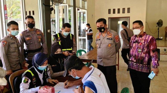 Pelaksanaan Vaksinasi Massal Covid-19 di Mesuji Mencapai 1.060 Orang