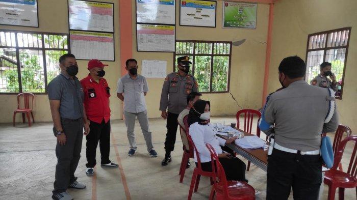 Polres Lampung Barat Vaksinasi Serentak di Wilayah Lampung Barat dan Pesisir Barat