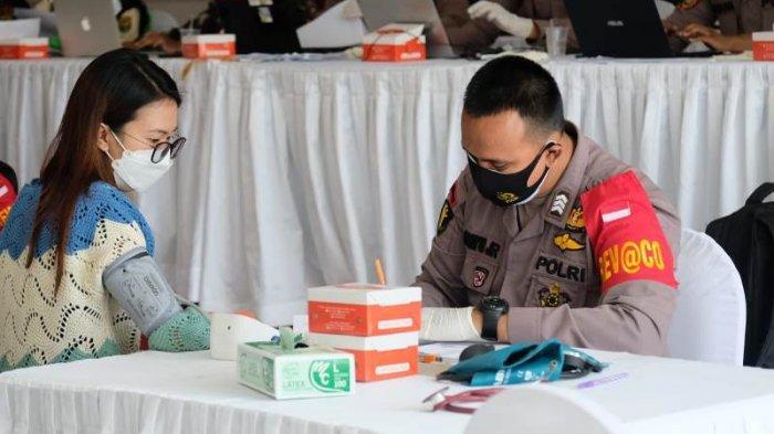 Percepat Program Vaksinasi, Polda Lampung Kembali Gelar Vaksinasi Merdeka di Graha Wangsa