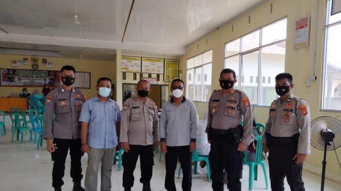 Polres Mesuji Tinjau Percepatan Vaksinasi di Desa Gedung Mulya