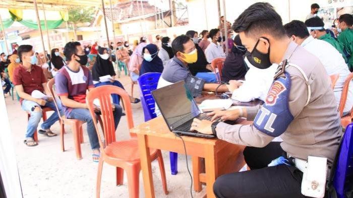 Polres Pringsewu Dapat Tambahan 800 Dosis Vaksin Covid-19 untuk Masyarakat Umum