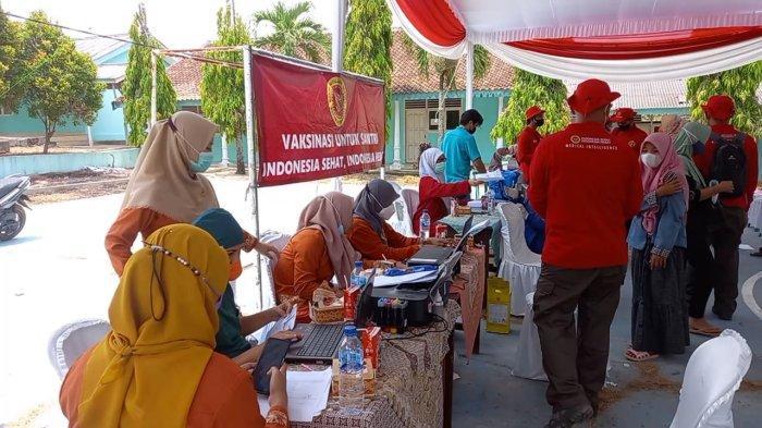 BINDA Lampung Salurkan 11 Ribu Dosis Vaksin Covid di Lampung Tengah