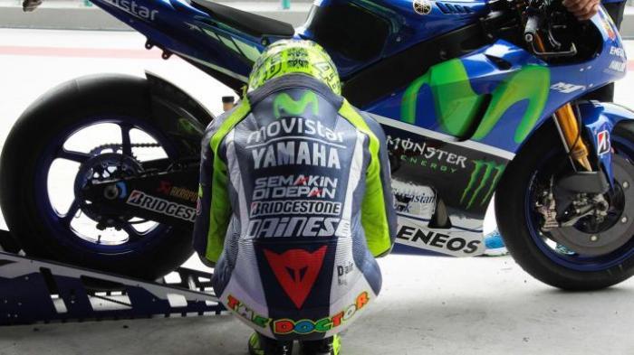 Jelang MotoGP Portugal Valentino Rossi Belum Mampu Bangkit dari Keterpurukan