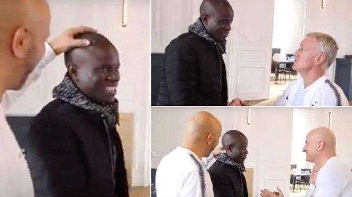 N'Golo Kante Datang Terlambat di Pusat Latihan Timnas Prancis, Bukan Ditegur Malah Ditertawakan