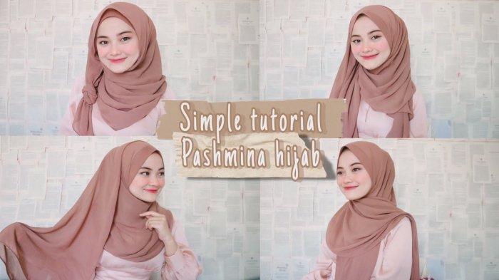 Tutorial Hijab Lebaran 2020 6 Style Pakai Jilbab Pashmina Ala Fina Rahmaw Halaman All Tribun Lampung