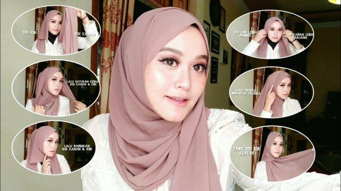 Video Tutorial Hijab Menggunakan Pashmina 9 Style Hijab Tutorial Kekinian Ala Agil Swd Tribun Lampung