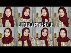 Tutorial Hijab Lebaran 2020 Simak 9 Style Pakai Hijab Segi Empat Terbaru Ala Delia Ritne Liati Tribun Lampung