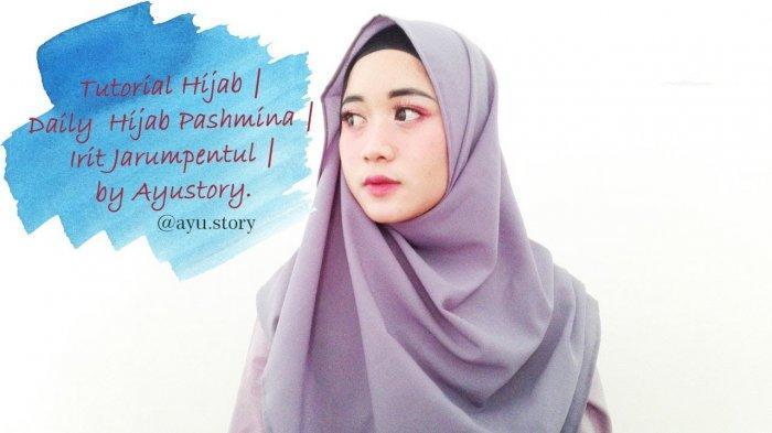 Video Tutorial Hijab 3 Model Hijab Pasmina Bahan Wolfis Halaman All Tribun Lampung