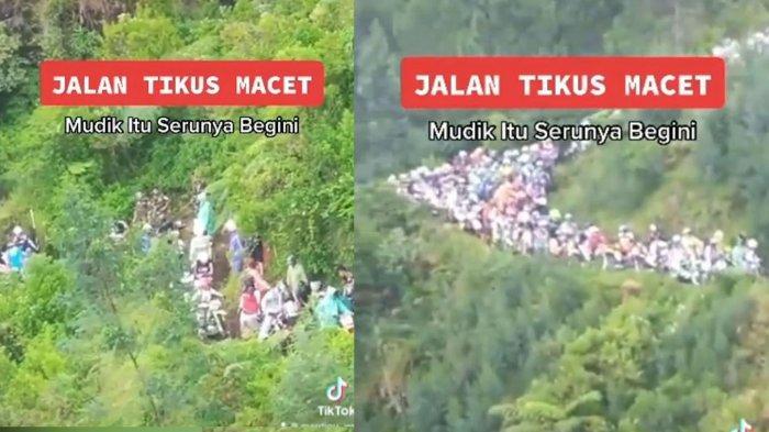 Video Viral Kemacetan Pemudik di Jalan Tikus Ternyata Hoaks, Berikut Faktanya