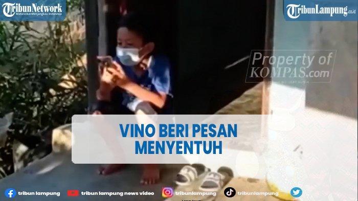 Pesan Haru Vino setelah Ayah Ibunya Meninggal, Ajak Kakeknya Nyekar ke Makam