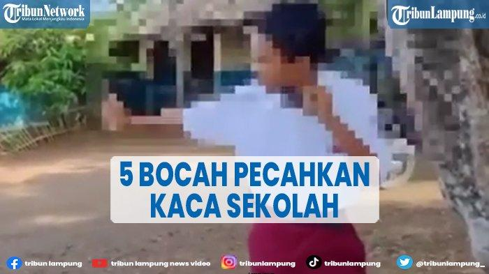 Persoalan Siswa SD N 3 Padang Cermin Pecah Kaca Sekolah, Wali Murid Sudah Minta Maaf