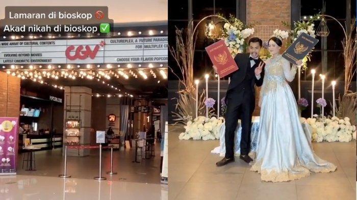 VIDEO VIRAL Akad Nikah di Bioskop, Berikut Faktanya