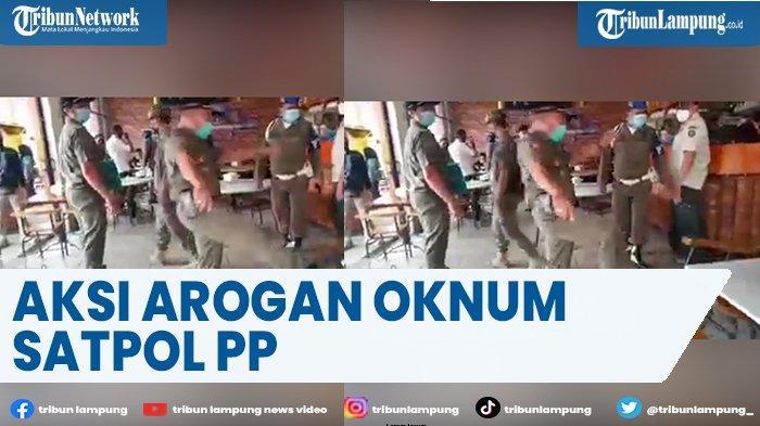 Wali Kota Minta Maaf, Video Satpol PP Tendang Kursi dan Marahi Karyawan Kafe Viral