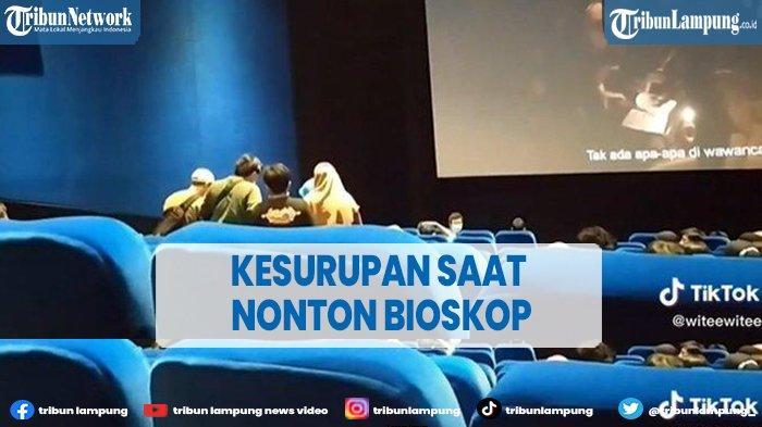 Viral Dua Penonton Diduga Kesurupan saat Nonton Film di Bioskop Bekasi