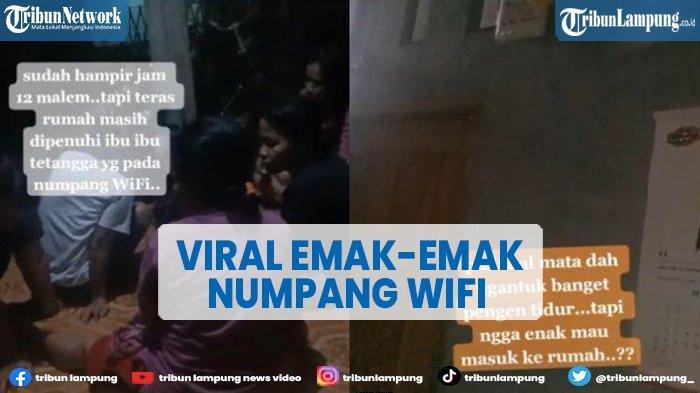 Viral Curhatan Warga Banjarnegara, Rumahnya Ramai Ibu-ibu Numpang WiFi hingga Larut Malam
