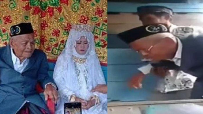 VIRAL Kakek 103 Tahun Nikahi Gadis 27 Tahun, Beri Mahar Rp 5 Juta dan Cincin Emas
